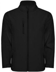 Herren Nebraska Softshell Jacket, Wasser- und Windabweisend - Farbe: Black 02 - Größe: XL