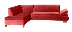 Max Winzer Terrence Ecksofa links mit Sofa 2,5-Sitzer rechts - Farbe: ziegel - Maße: 270 cm x 190 cm x 76 cm; 2920-264-2044276-F07