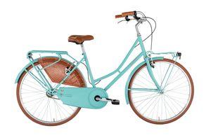26 Zoll Cityrad Viscontea Olanda Single Speed Azurro 46 cm Rahmengröße
