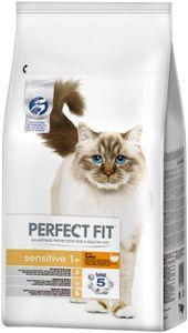 Perfect Fit Cat Trocken 7kg - Sensitive 1+ reich an Truthahn