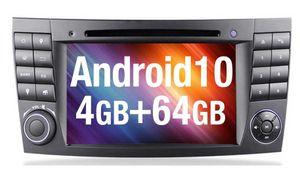 Autoradio Android 10  Mercedes E Klasse W211 Navigation GPS DAB DVD MP3 USB SD DVB-T Radio