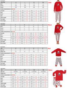 Baby Jungen Maedchen Weihnachten Pyjama Set Baum Print Long Sleeves T-Shirts Hosen beilaeufige Nachtwaesche Tops Hosen 2 Stueck 18M