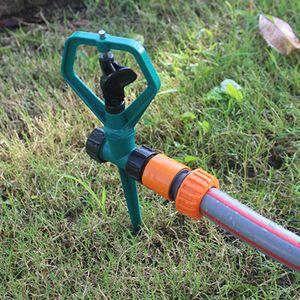 2 Stück 360 Grad rotierend Gartensprinkler Automatische Sprinklerkopf Garten-Rasenwassersprinkler Bewässerungsnebel