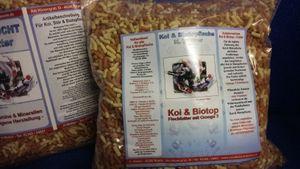 Teichsticks Mix Fischfutter Koifutter Teichfutter 1300 gr. Beutel(100 gr.=1.46 €)