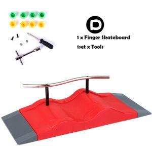 Skate Parks Kit Rampenteile für Finger Skateboard Griffbrett ZQI201207002D