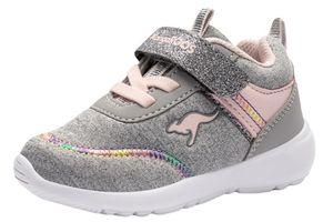 Kangaroos Kinder Sneaker  Textil grau 26