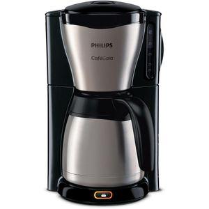 Philips HD 7548/20 Gaia Therm Kaffeemaschine schwarz/ Edelstahl & Kunststoff, Farbe:Edelstahl-Schwarz