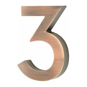Hausnummer Scala kupfer Nr. 3
