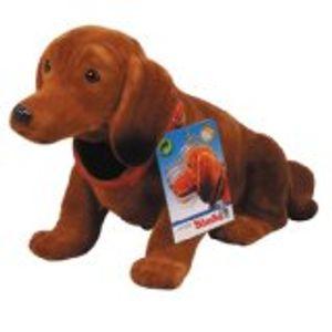 SIMBA Hund Wackel-Waldie 27 cm dunkelbraun oder braun Wackelhund Wackeldackel Dackel