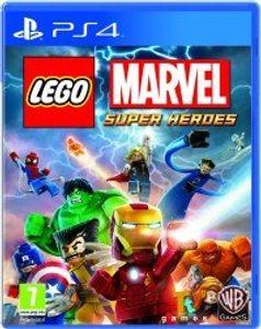 Warner Bros Lego Marvel Super Heroes, PS4, PlayStation 4, Action/Abenteuer, Multiplayer-Modus, E10+ (Jeder über 10 Jahre)