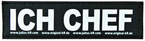 Trixie 2 Julius-K9 Klettsticker S, ICH CHEF