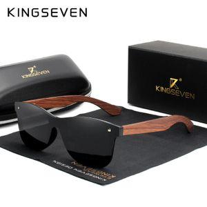 KINGSEVEN Natürliche Holz Sonnenbrille Männer polarisierte Damen Sonnenbrille