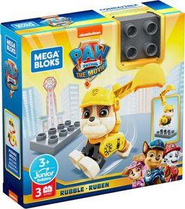 konstruktionsspielzeug Rubble junior gelb 3-teilig