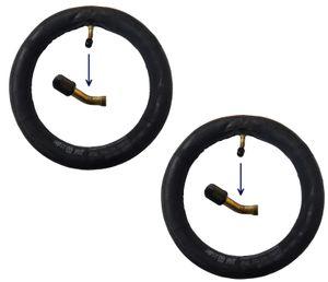 2 Stk. Kinderwagenschlauch 10x1.75 bis 10.2.0 mit Autoventilen