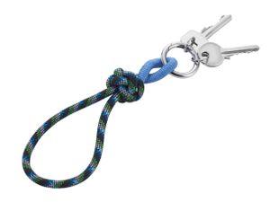 TROIKA Schlüsselband CORDULA in verschiedenen Farben, Farbe:Blau