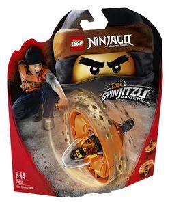 LEGO® NINJAGO® Spinjitzu-Meister Cole; 70637