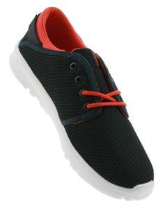 Etnies Kids Scout Sneaker blau navy red, Groesse:32.5
