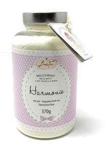 BadeFee - Milchbad Harmonie - 370g sinnlich- eleganter Duft von Rosen