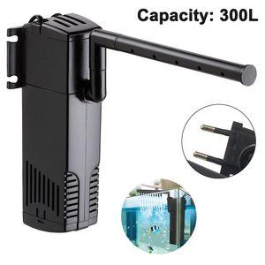 Speed Aquarium Pumpe Filterpumpe Aquarium Innenfilter Aquariumpumpe 300L/h 2Watt