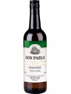 Don Pablo Sherry Fino 15% Vol. 0,75 l