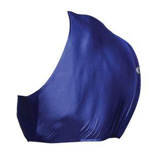 Weatherbeeta Stretch-Brustschutz WB786 (Pony) (Marineblau)