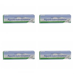 4 x Alpenkräuter-Emulsion 200ml