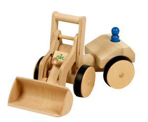 Nic schaufel 50 cm klares Holz