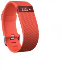 Fitbit Charge HR Fitness Tracker Armband mit Herzfrequenzmessung Large Orange