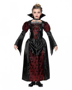Little Vampiress Kinderkostüm für Halloween und Karneval Größe: 8-10 Jahre