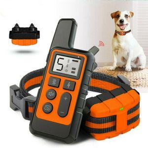 Anti-Bell Hunde Halsband Ton Vibration OHNE SCHOCK SPRAY für Hunde Hundetrainingshalsband Pet Elektrische Fernbedienung Wasserdicht Training