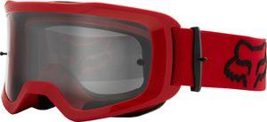 FOX Main Stray Jugend Tear-Off Motocross Brillen Set Farbe: Rot
