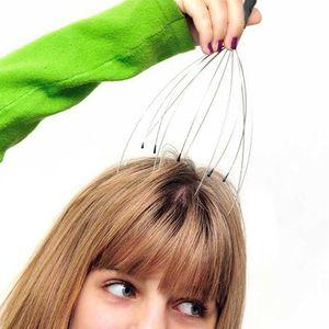 Kopfmassagegerät Metall Deluxe mit 12 Massage-