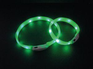 "LED Leuchtband breit ""VISIBLE"" grün M: 25 mm; 55 cm"