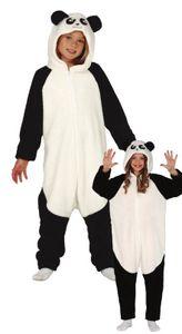 Fiestas Guirca jumpsuit Panda junior Polyester 10-12 Jahre