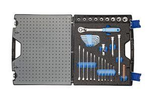 Gedore Werkzeugkoffer mit Sortiment TOURING 49-tlg  1000