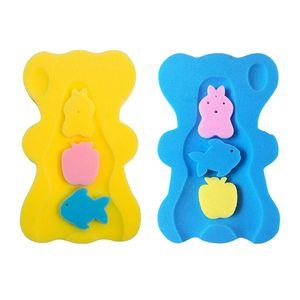 2x Baby Badeschwamm Säuglingskissen Sicherheitspad