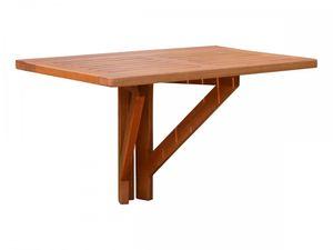 Garden Pleasure Holz Hängetisch 60x40 cm Balkon Esstisch Tisch Eukalyptus