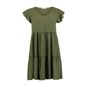 Kleid Leonie, Größe:M, Farbe:Khaki