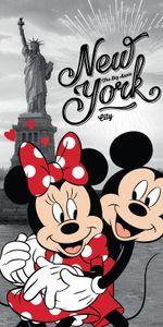 Disney 18TW176 Minnie und Micky Maus Badetuch 70 x 140 Strandtuch