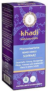 Khadi Haarfarbe Indigo Schwarz 100g