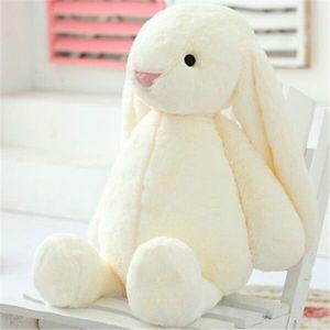 Weiß Hase Puppe Kind Plüschtiere Kissen Süßer Hase Weiches Plüschtierkaninchen Ausgestopftes Tier Kindergeschenk