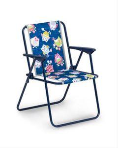 Best Freizeitmöbel Kinder-Camping-Klappsessel Blau, 35210020