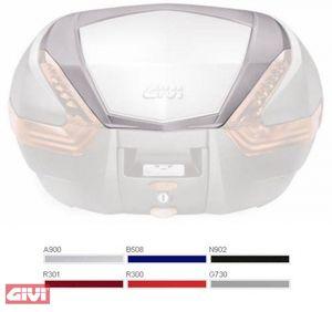 GiVi Cover für V47/V56 silber standard lackiert