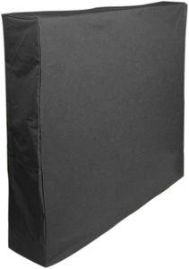 Tischtennis-Abdeckung Tischdecke aus Oxford-Stoff AbdeckhüLle SchutzhüLle Abdeckhaube (schwarz)