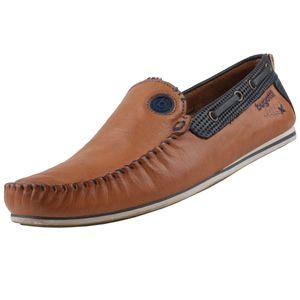 bugatti Herren Mokassins Braun, Schuhgröße:EUR 42