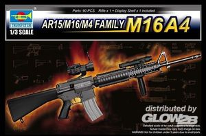 Trumpeter AR15/M16/M4 FAMILY-M16A4 1:3, 01915