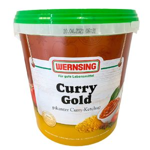 Curry-Ketchup Gold 10kg WERNSING