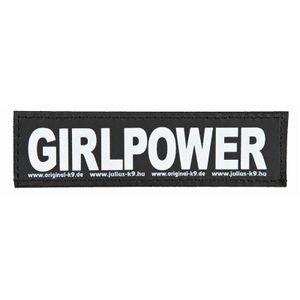 Julius-K9 Klettsticker S Girlpower