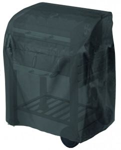 Tepro-Grillschutzhülle-Universal Abdeckhaube - für Grillwagen klein, schwarz; 8100