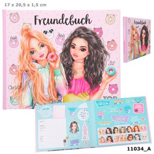 Depesche 11034 TOPModel Freundebuch Christy & Liv Donuts Candy Cake